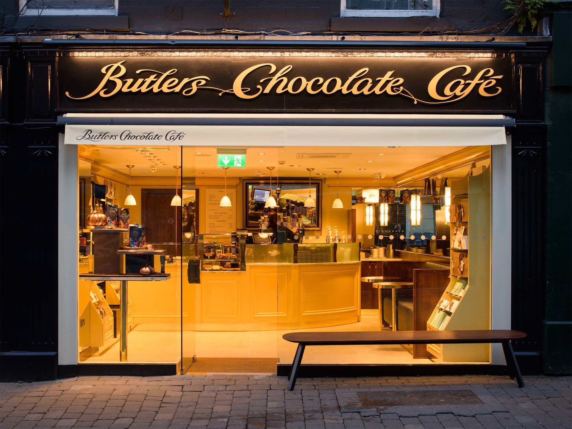 Butlers Chocolates William Street, Galway