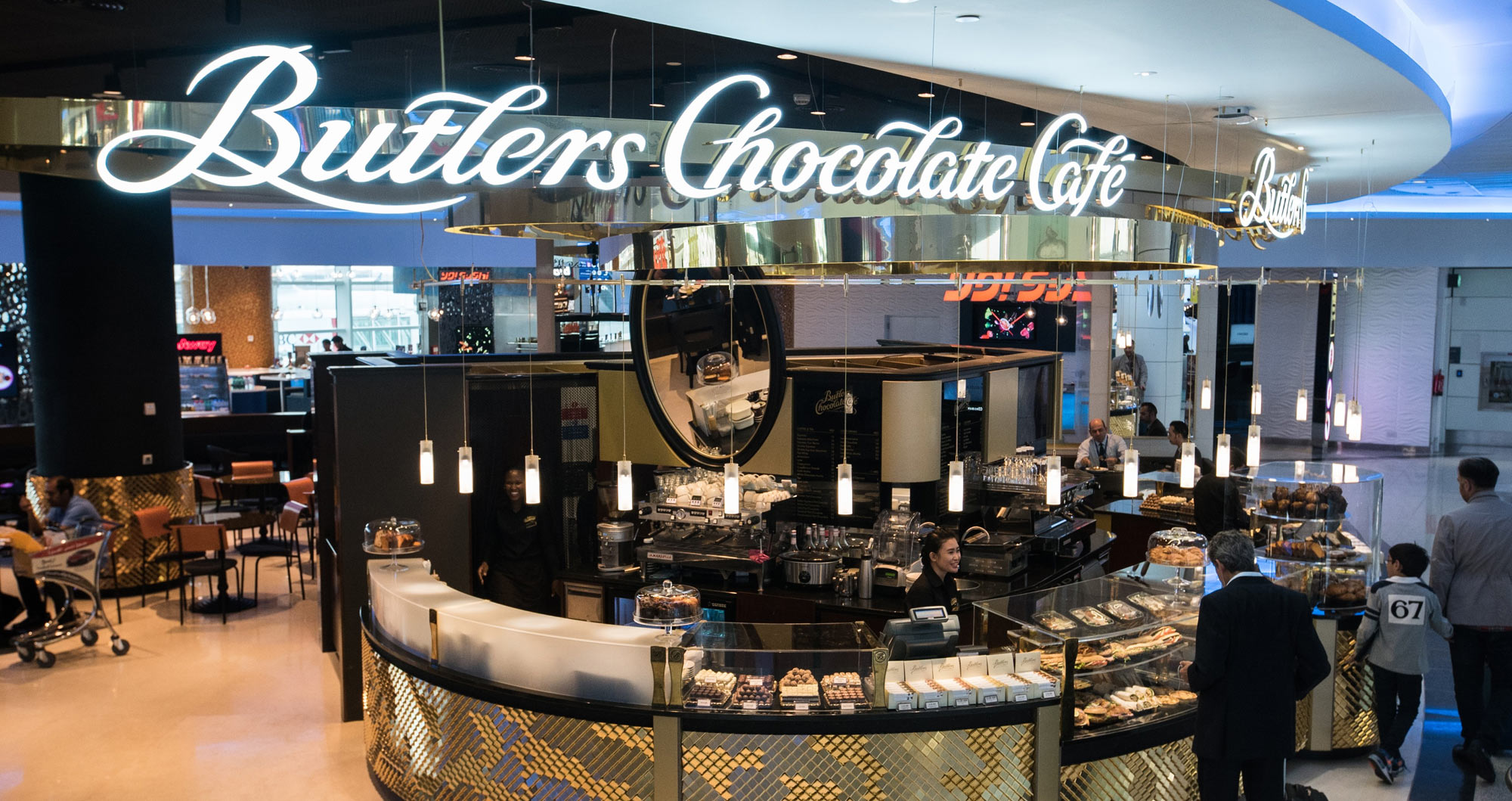 Butlers Chocolates Dubai Airport, Concourse D