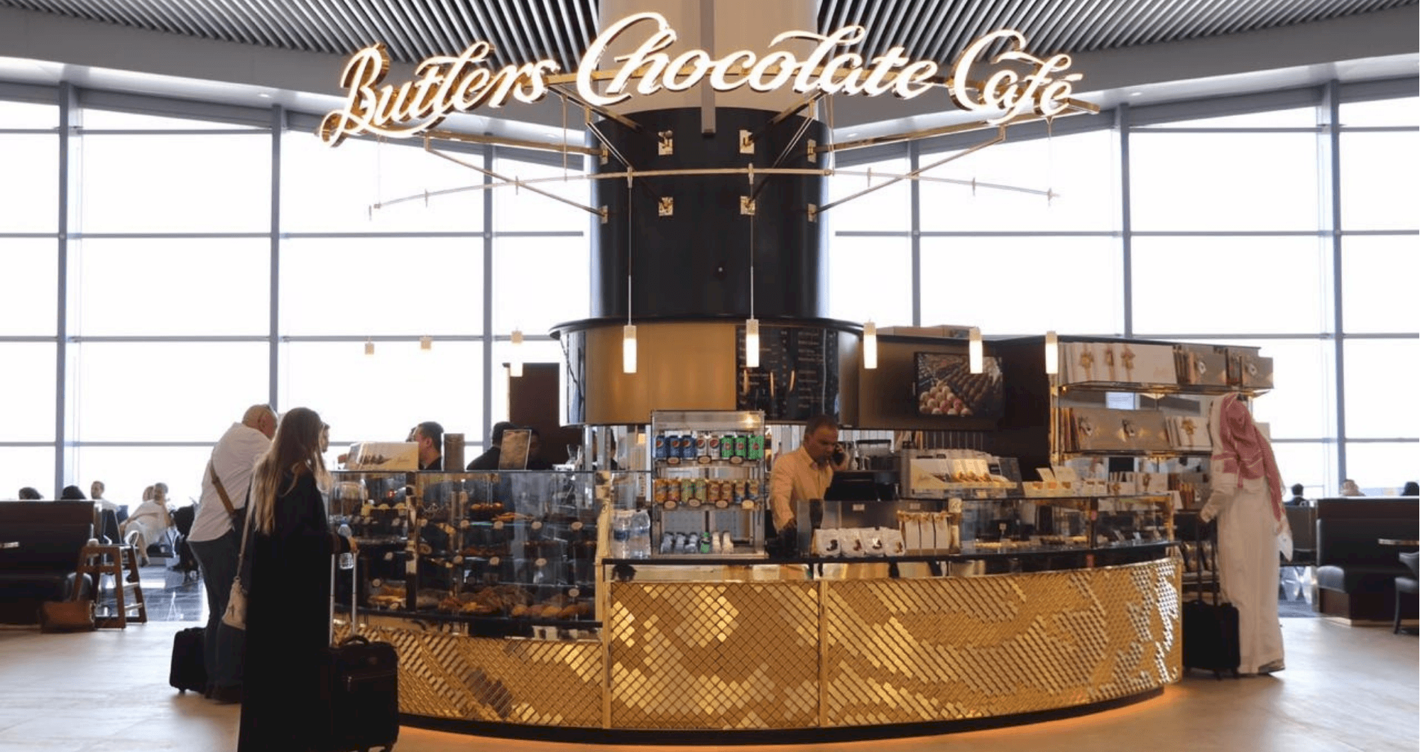 Butlers Chocolates Butlers Chocolate Café, King Khalid International Airport